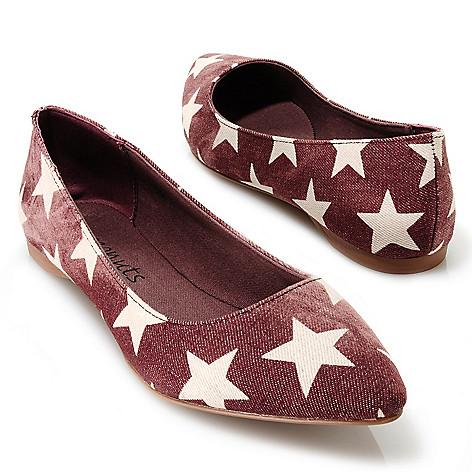 713-754 - Matisse® Star Pattern Ballet Flats