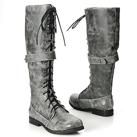 713-756 - Matisse® Lace-up Combat-Inspired Tall Boots