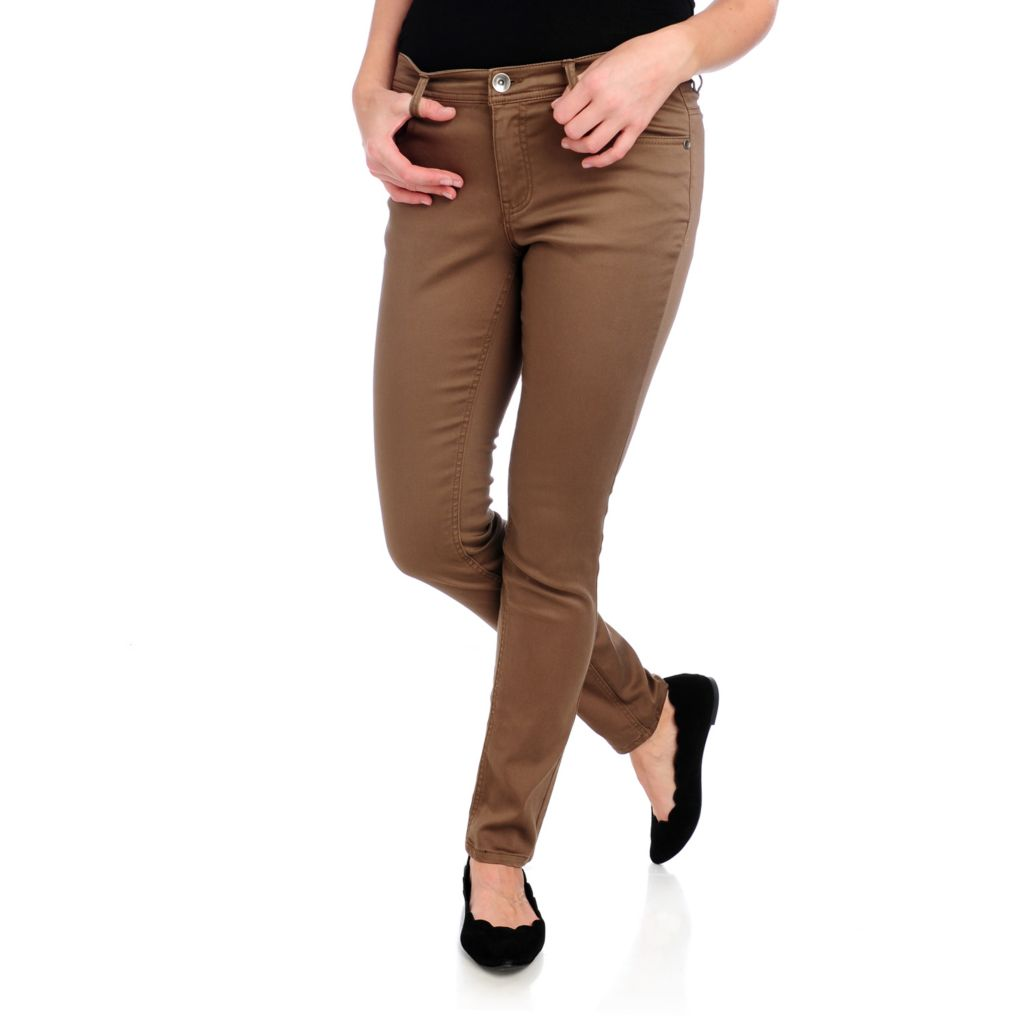 713-757 - OSO Casuals Stretch Twill Five-Pocket Slim Leg Pants