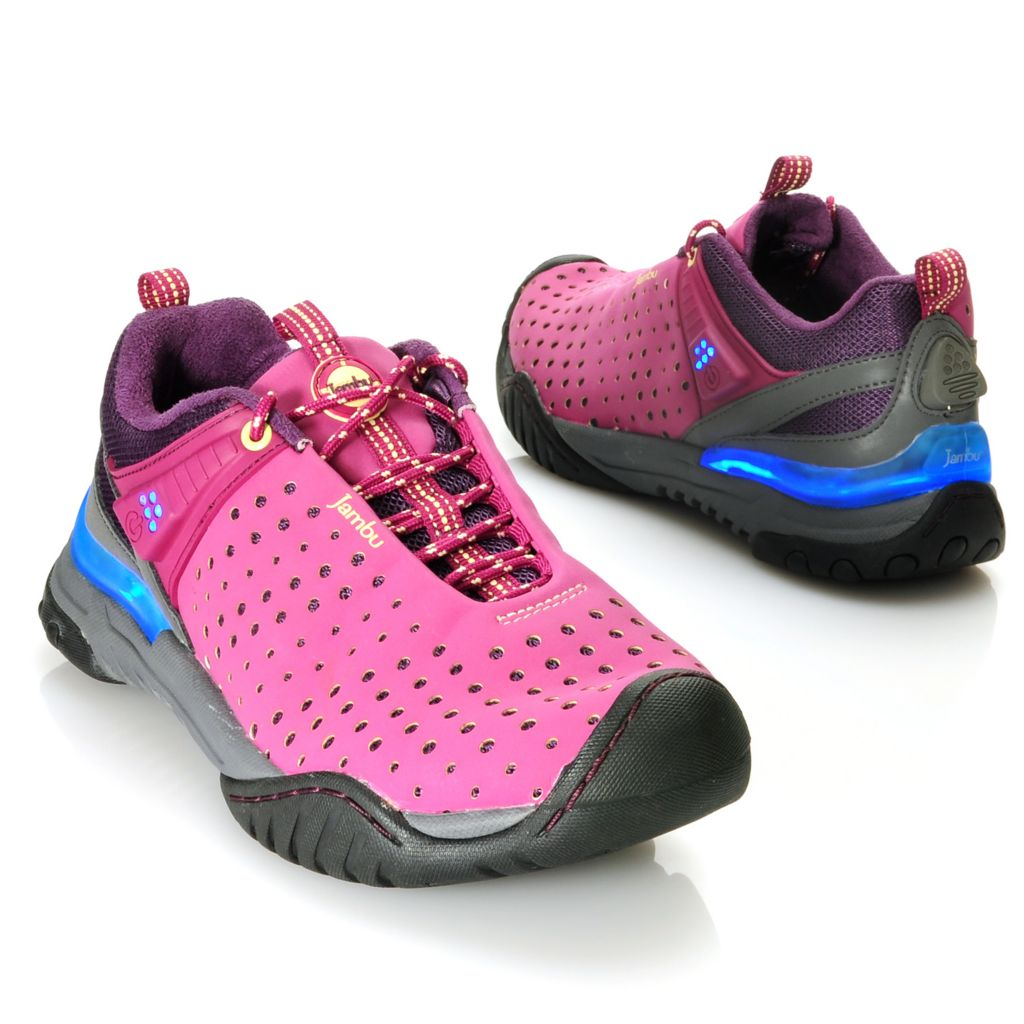 713-759 - Jambu Lace-up Illuminated Walking Shoes