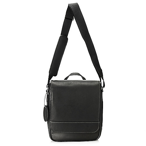 713-957 - Wilsons Leather Men's Tablet North-South Messenger Bag