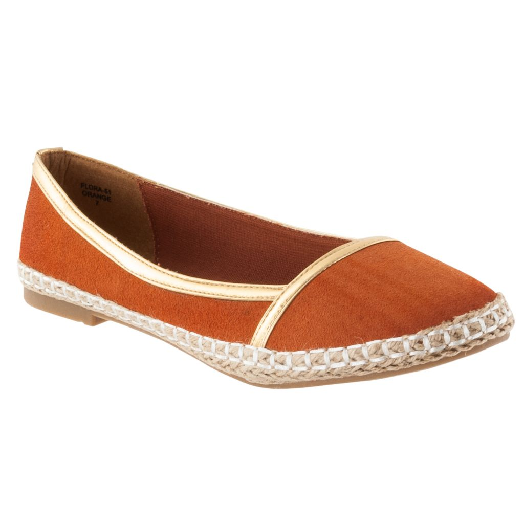 713-980 - Via Pinky by Riverberry Women's 'Flora' Microsuede Casual Flats