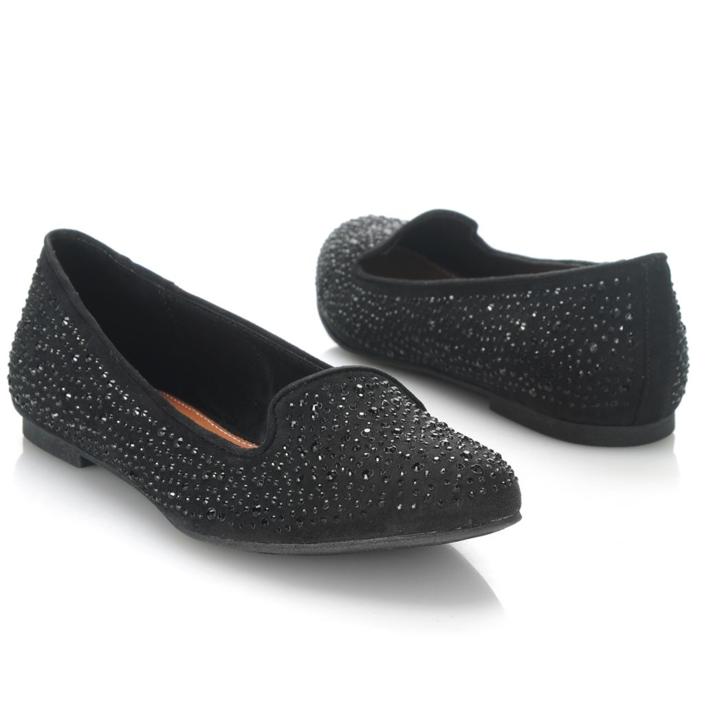 714-086 - MIA Rhinestone Embellished Smoking Loafers