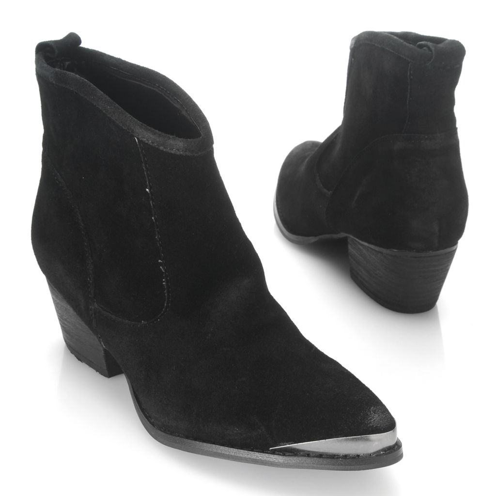 714-102 - Chinese Laundry Suede Leather Ankle Boots