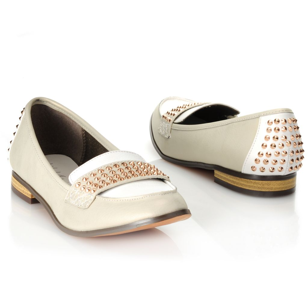 714-121 - Michael Antonio® Two-tone Studded Loafers