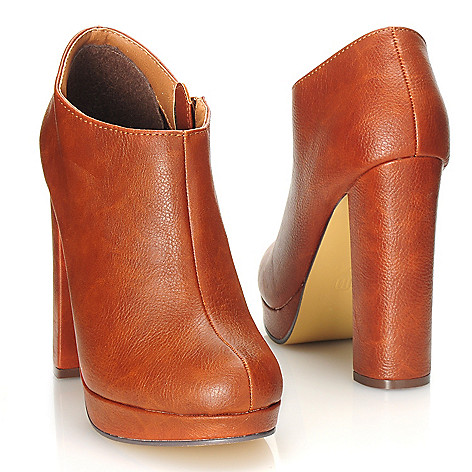 714-123 - Michael Antonio® Side Zip Platform Ankle Boots