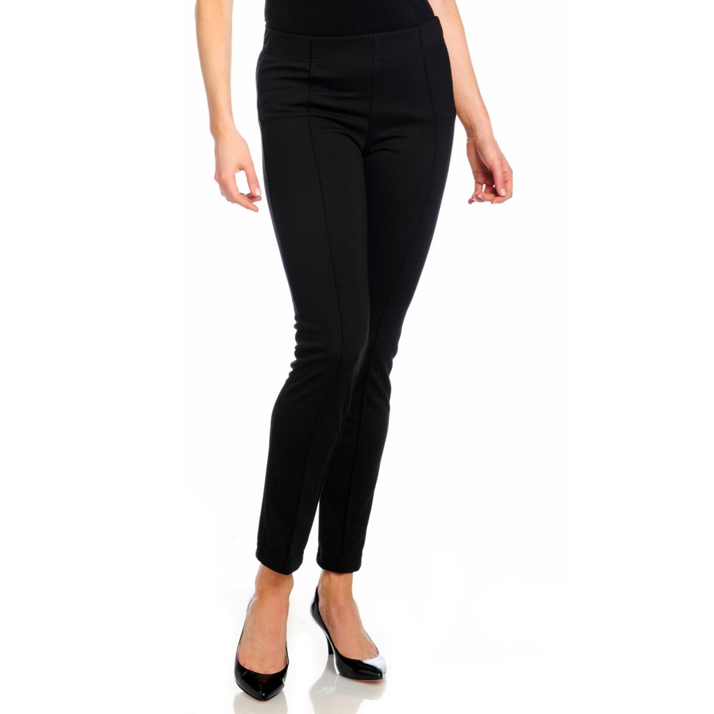 714-281 - Focus 2000 Stretch Ponte Elastic Waist Pull-on Pants
