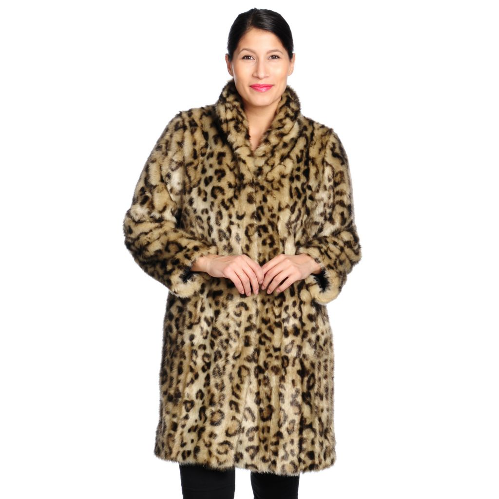 714-332 - Donna Salyers' Fabulous-Furs Faux Fur Stand Collar Signature Stroller