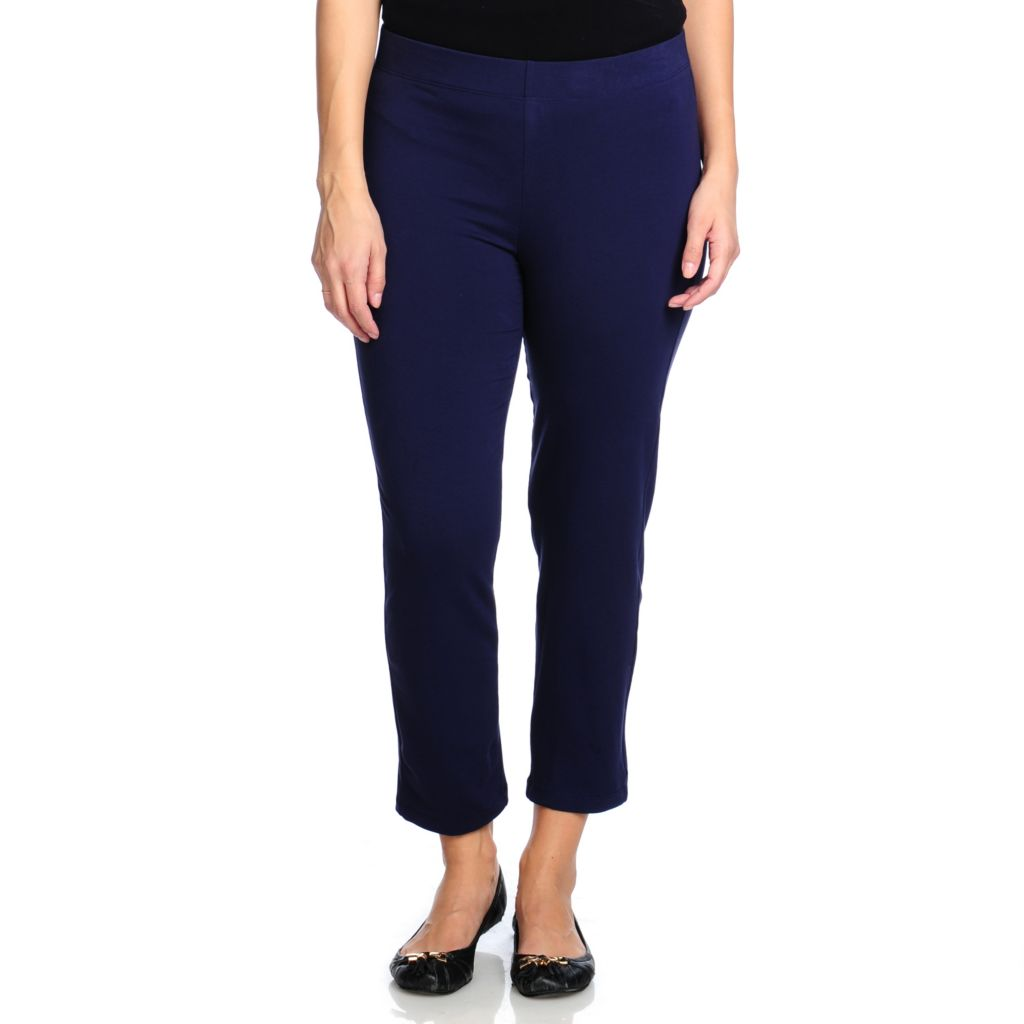 714-445 - Slimming Options™ for Kate & Mallory Stretch Knit Ankle Length Pull-on Leggings