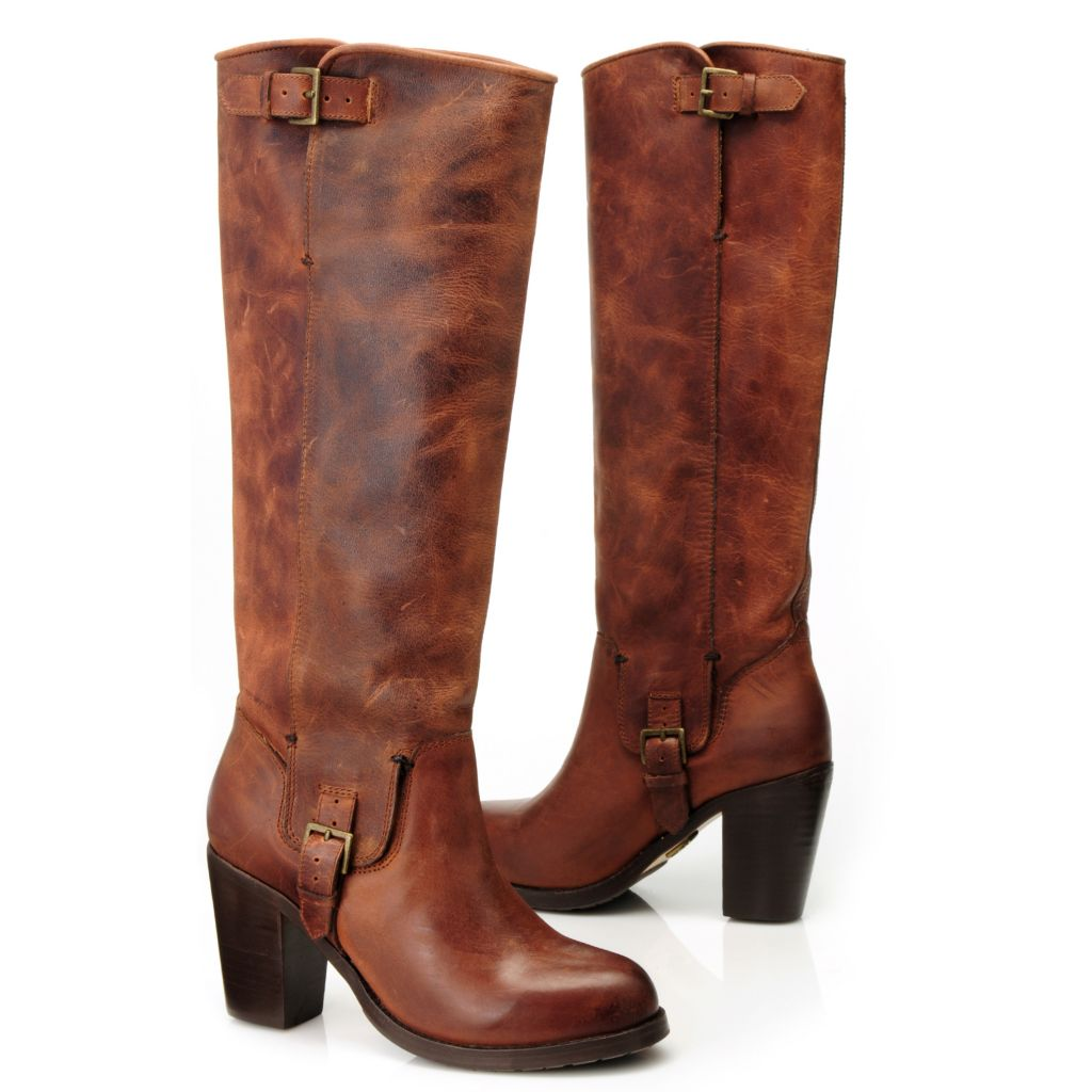 714-465 - Ariat® Leather Buckle Detailed Tall Boots