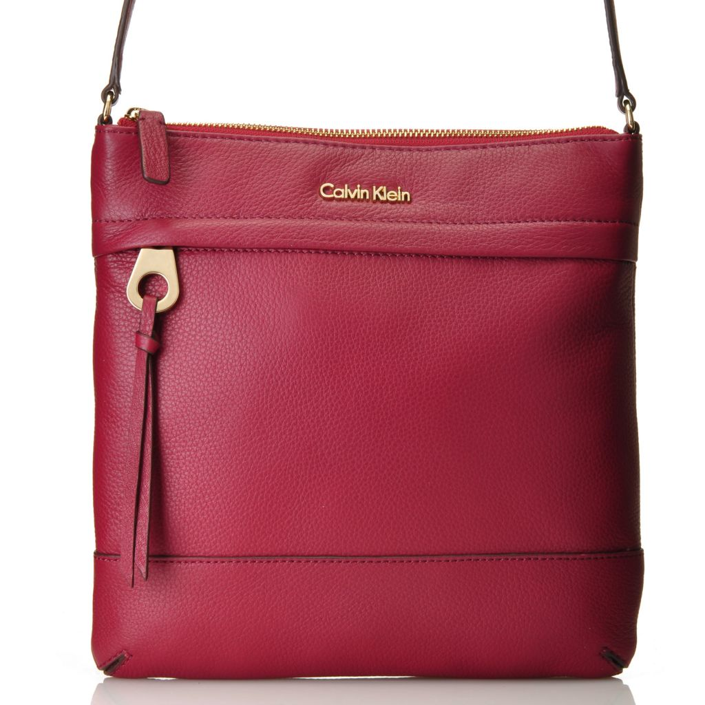 714-479 - Calvin Klein Handbags Leather Cross Body