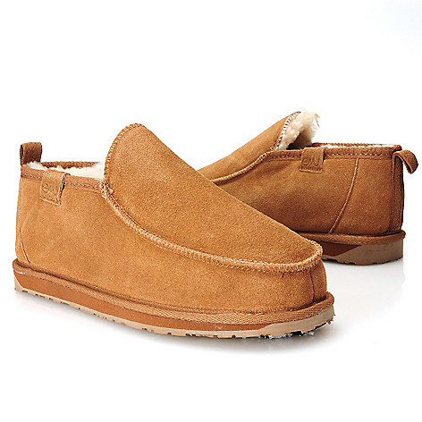 714-530 - EMU® Men's Suede Leather & Sheepskin Lined Slippers