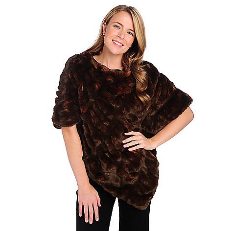 714-599 - Donna Salyers' Fabulous-Furs Faux Fur Couture Poncho
