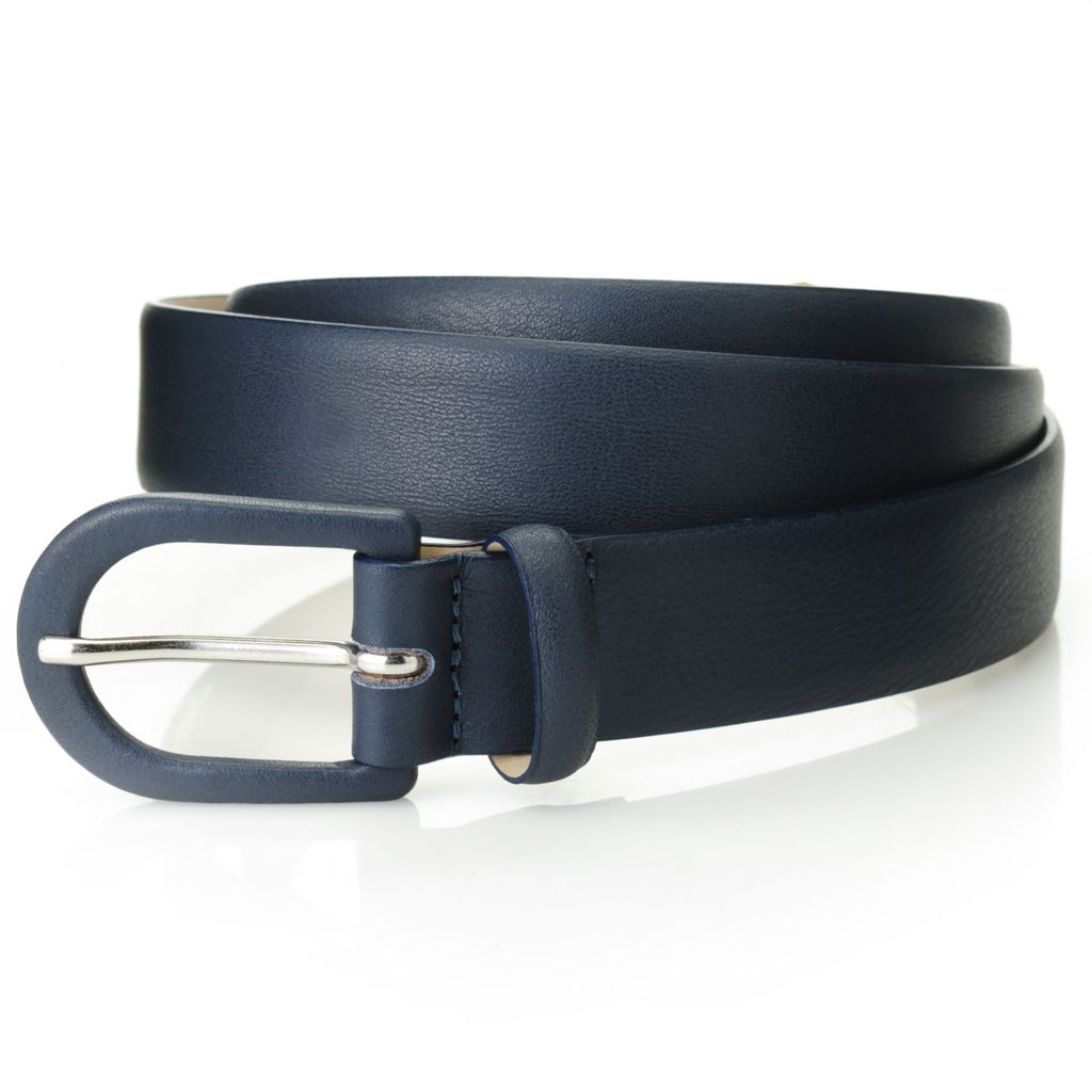 714-623 - Brooks Brothers® Leather Covered Buckle Belt