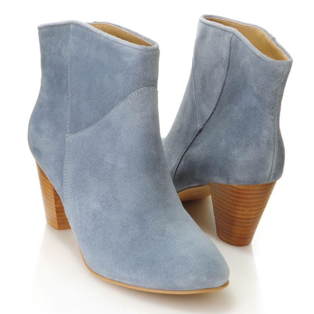 714-662 - MIA Suede Leather Ankle Boots