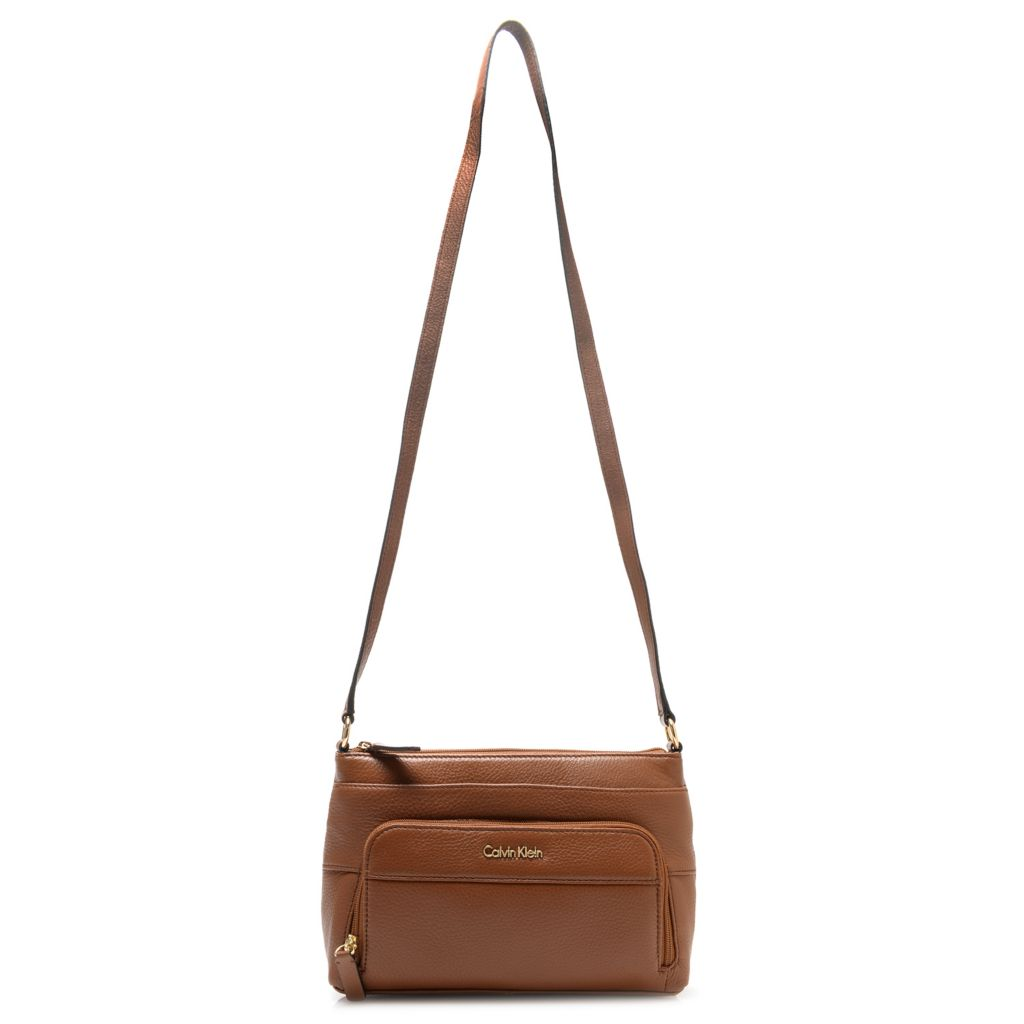 714-723 - Calvin Klein Handbags Pebbled Leather Cross Body