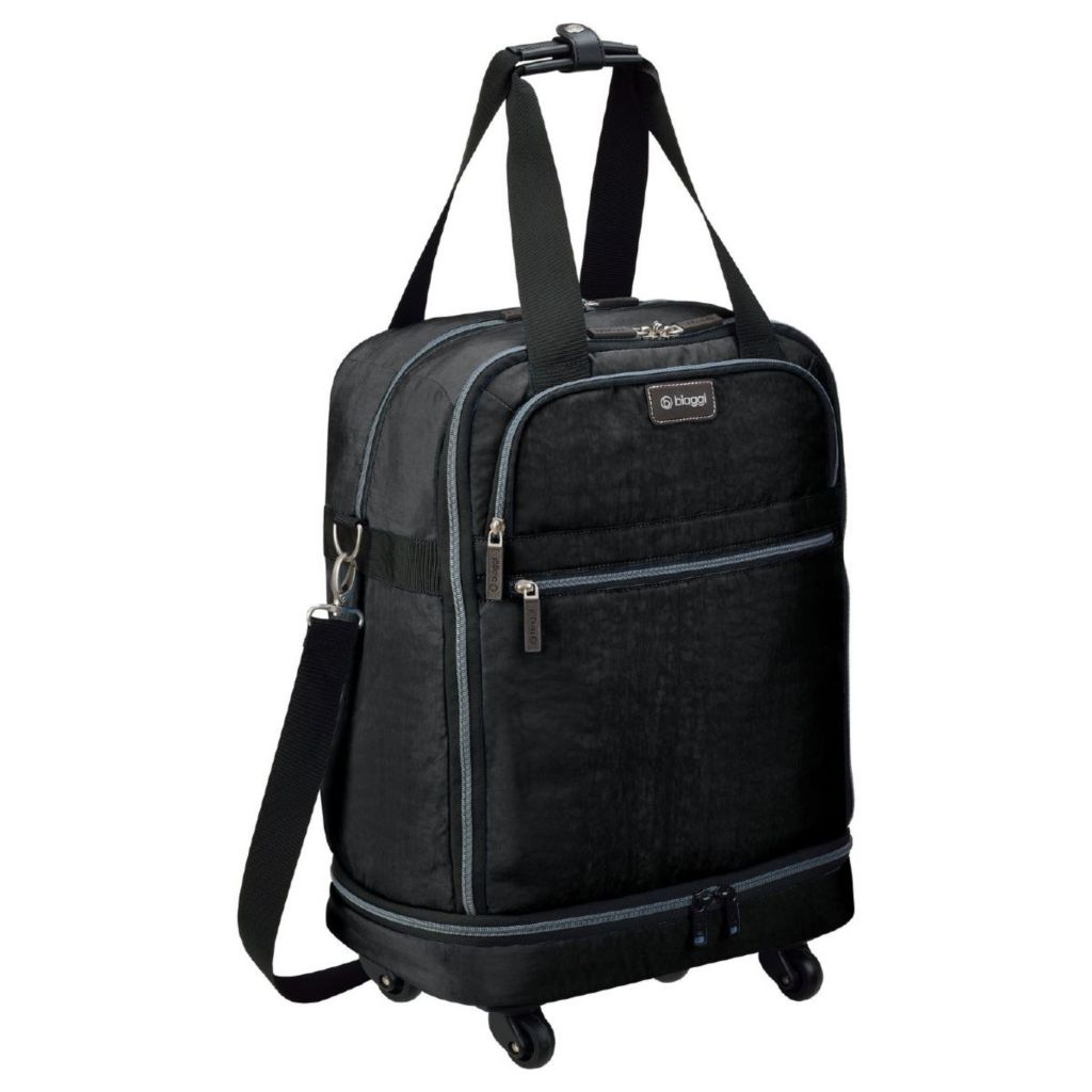 "714-814 - biaggi ZipSak 22"" MicroFold Four-Wheel Carry-on Bag"