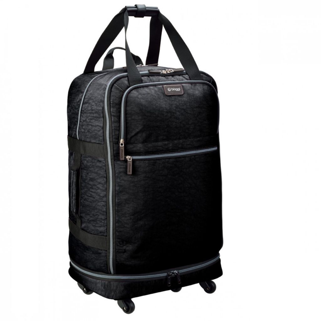 "714-815 - biaggi ZipSak 31"" MicroFold Four-Wheel Spinner Duffle Bag"