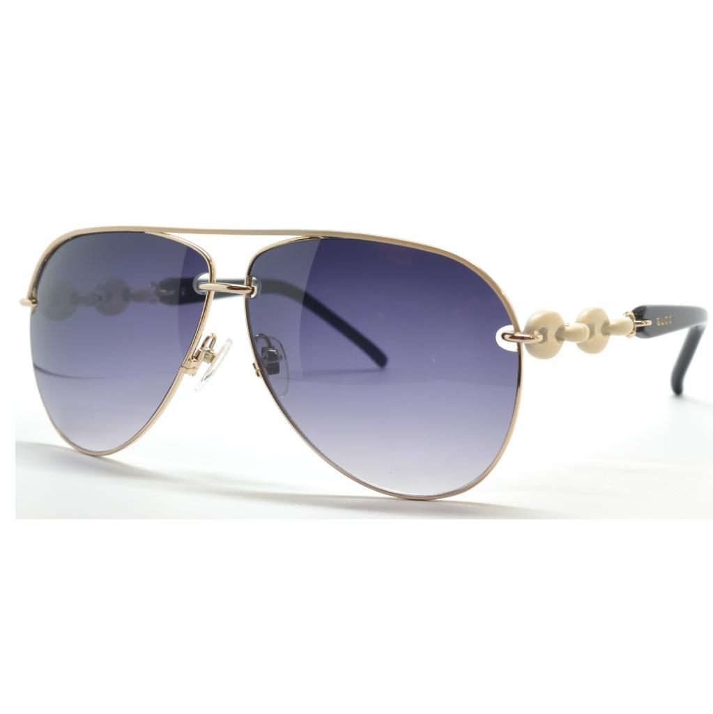 714-940 - Gucci Women's Aviator Designer Sunglasses
