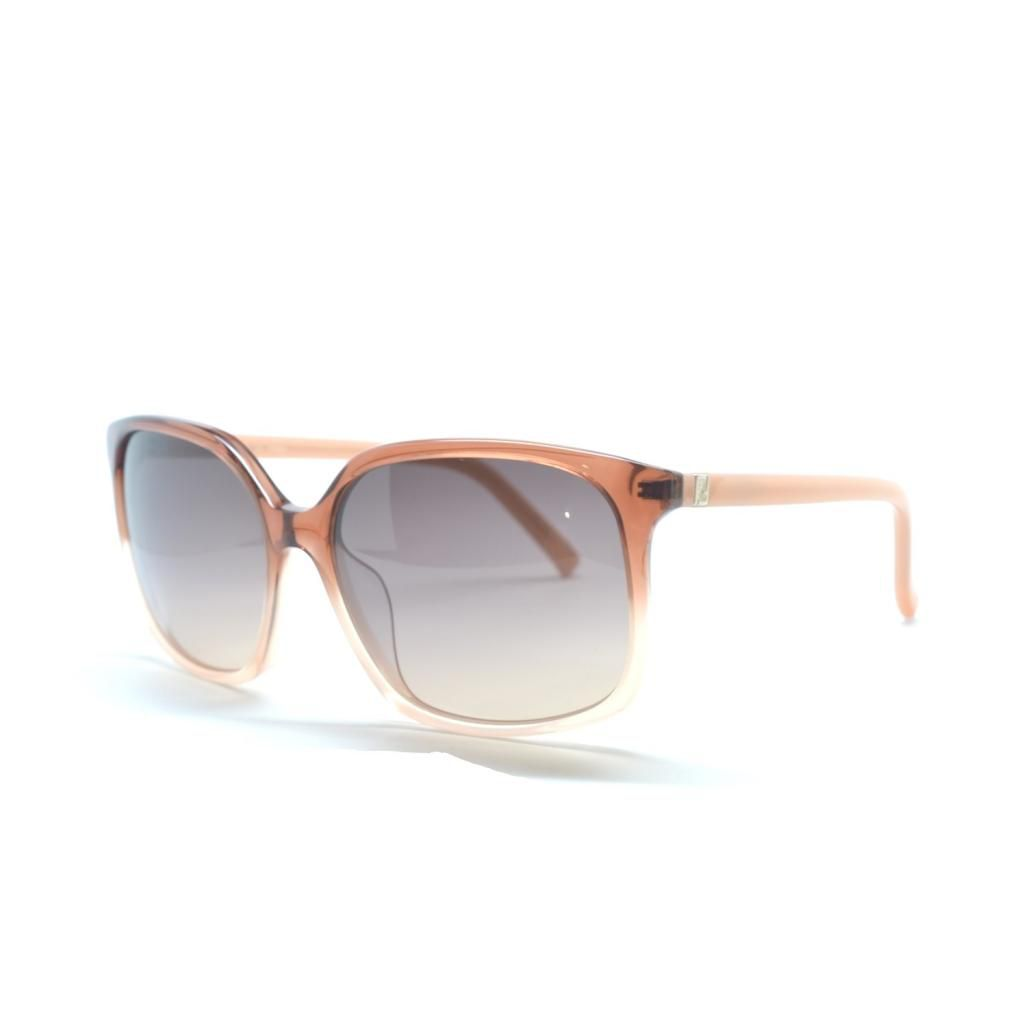 714-963 - Fendi Women's Brown & Pink Square Designer Sunglasses
