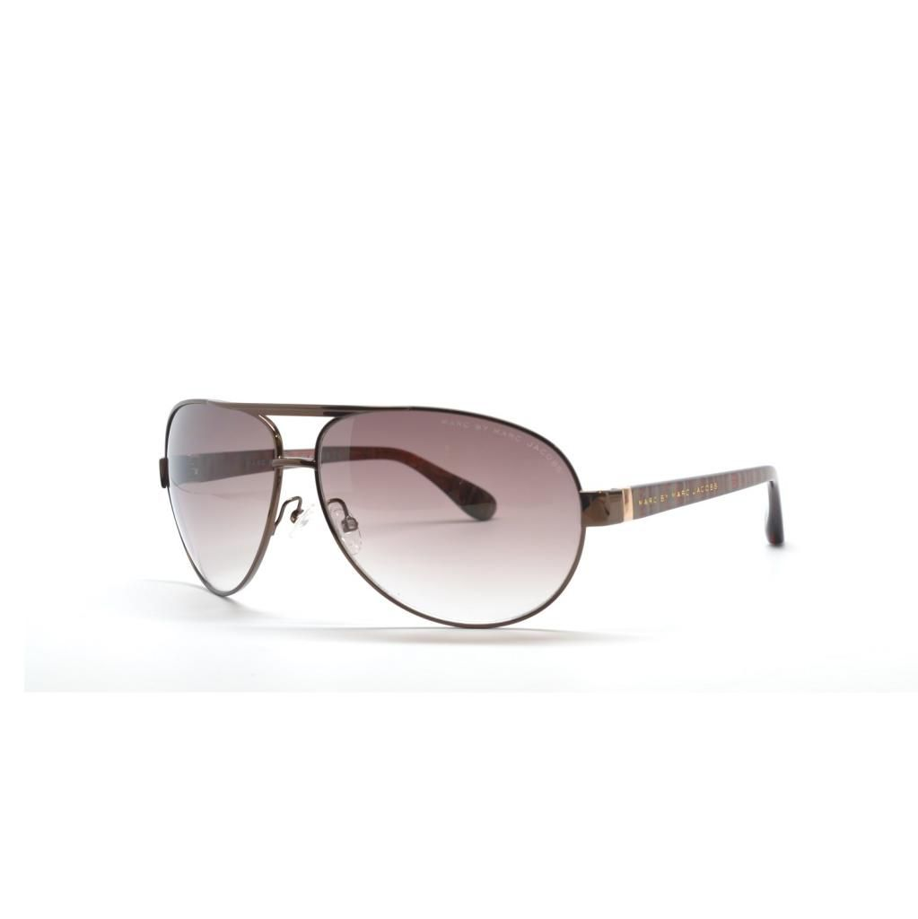 714-973 - Marc By Marc Jacobs Women's Brown Striated Designer Sunglasses