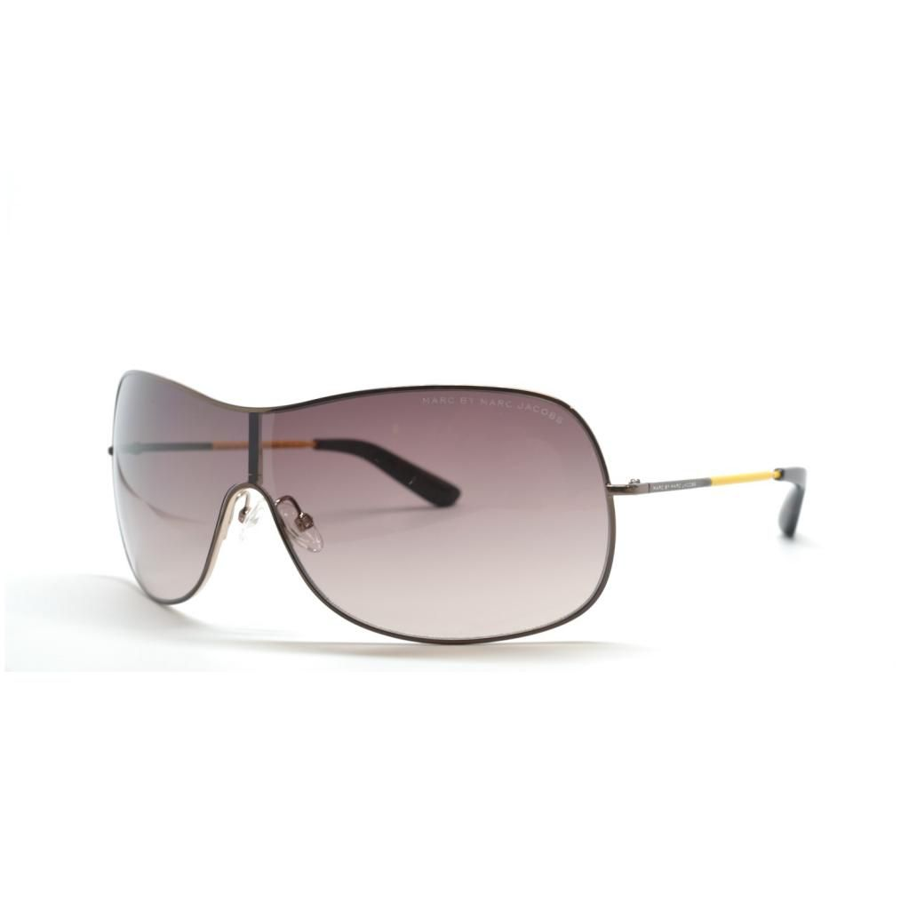 714-974 - Marc By Marc Jacobs Women's Brown Gold-tone Yellow Designer Sunglasses
