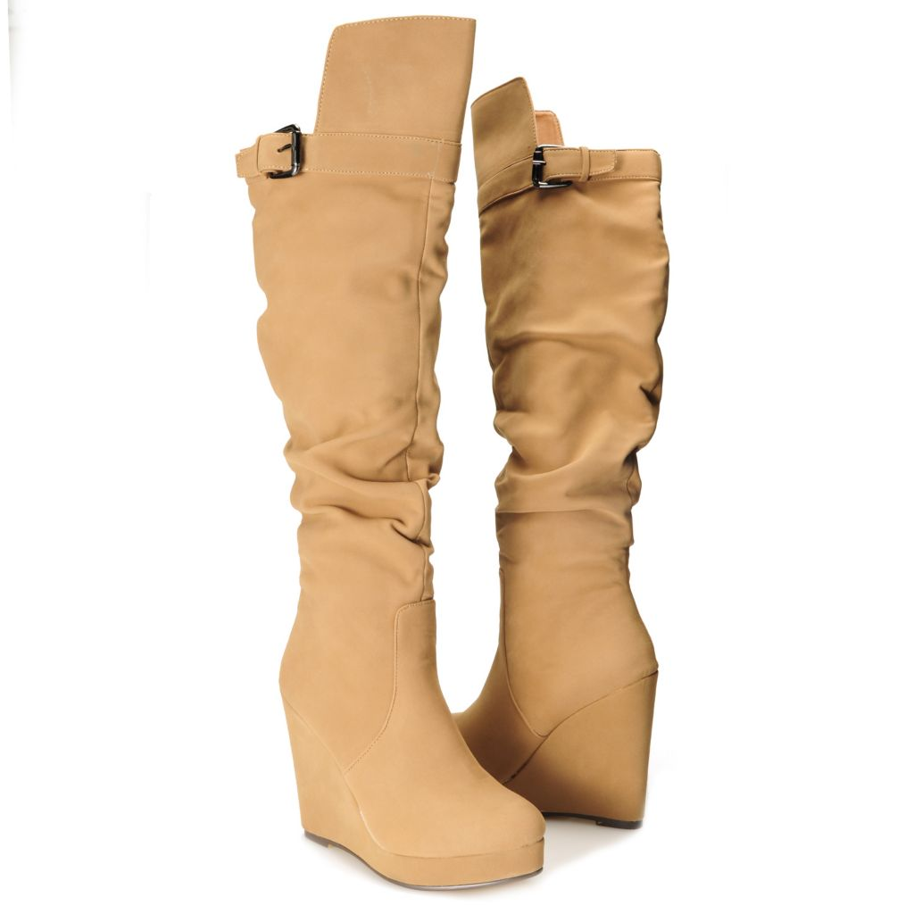 715-122 - Michael Antonio® Over-the-Knee Tall Wedge Boots