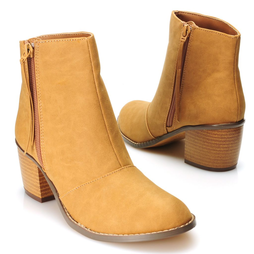 715-124 - Michael Antonio® Side Zip Ankle Boots