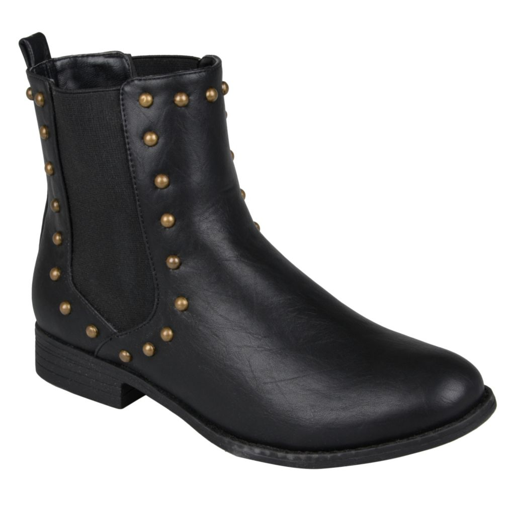 715-261 - Hailey Jeans Co. Women's Studded Round Toe Booties
