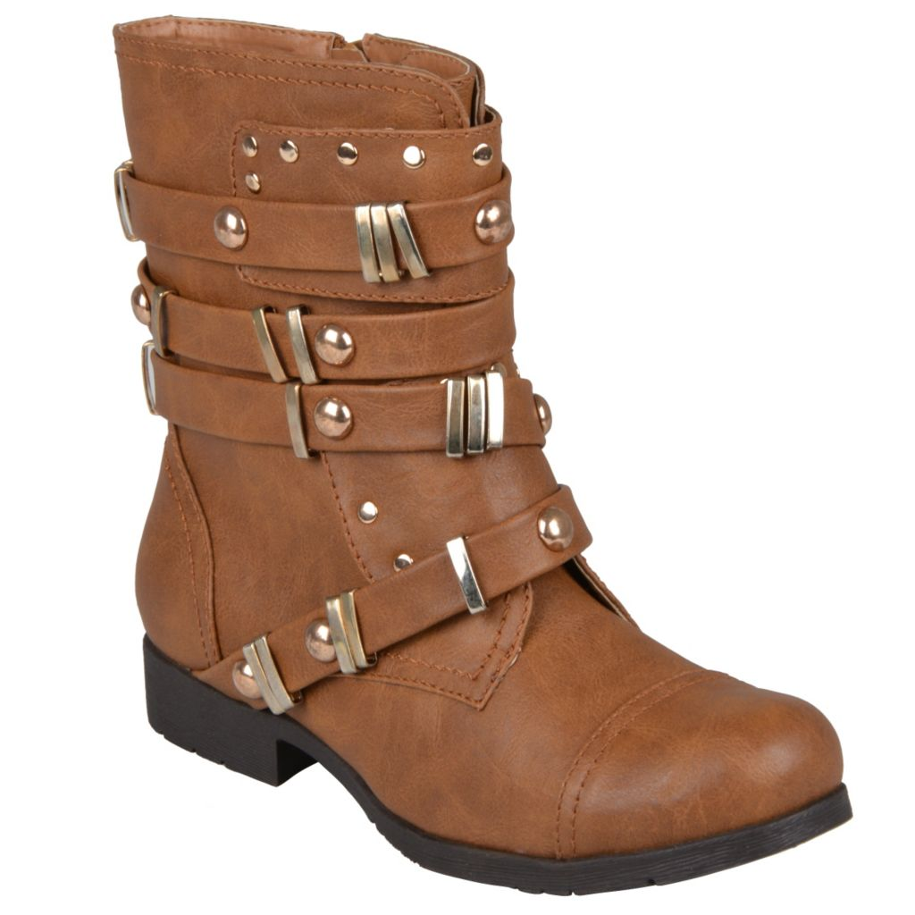 715-263 - Hailey Jeans Co. Women's Round Toe Studded Boots