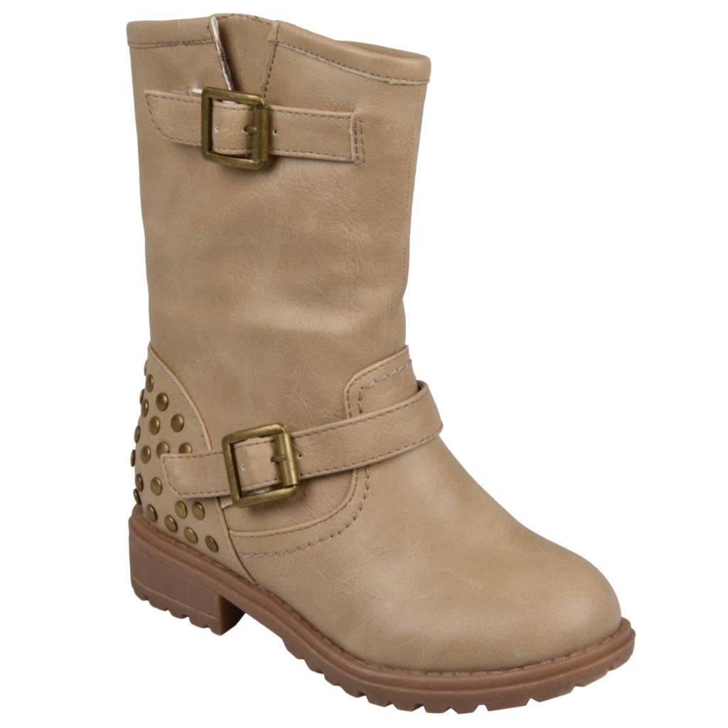 715-264 - Hailey Jeans Co. Children's Round Toe Buckle Boots