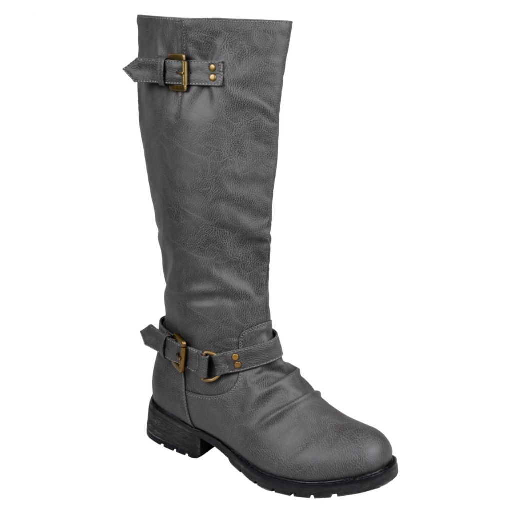 715-274 - Journee Collection Women's Tall Buckle Detail Boots