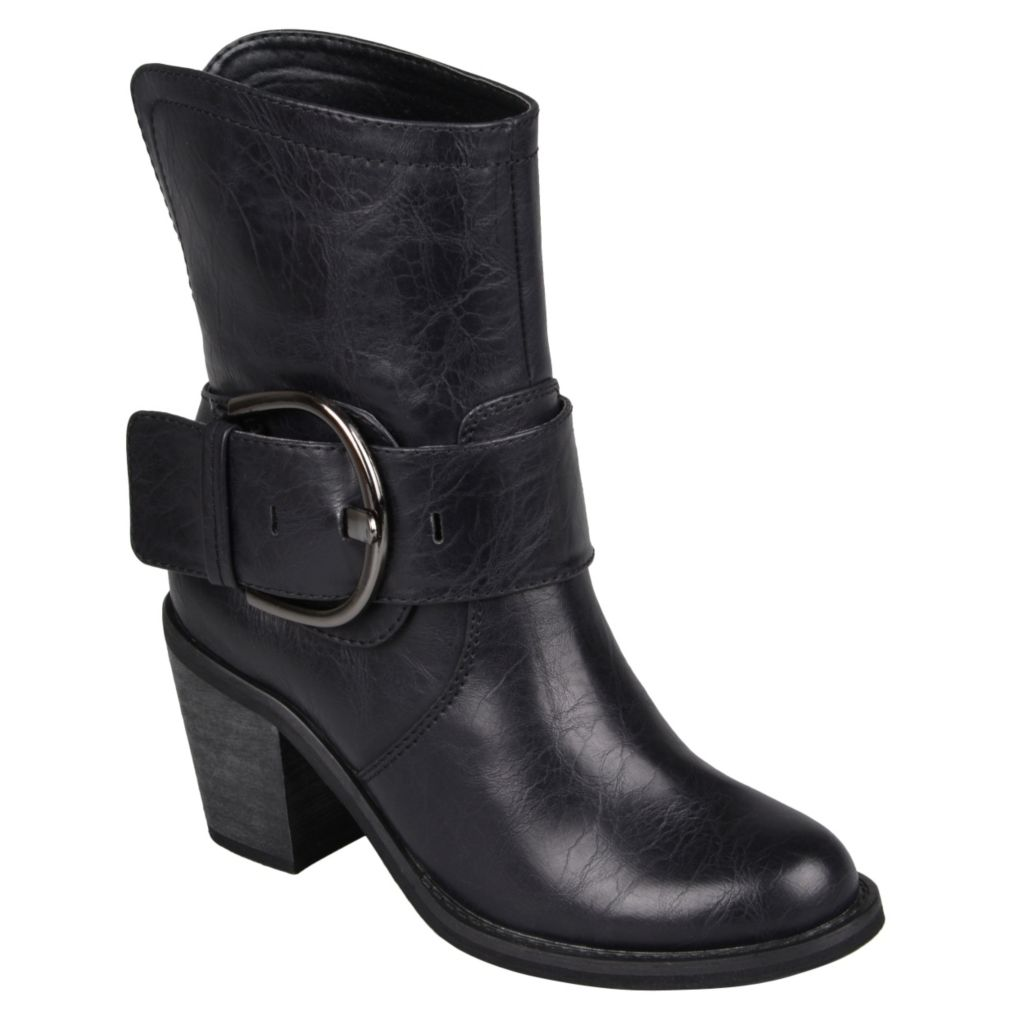 715-296 - Hailey Jeans Co. Women's Buckle High Heel Boots