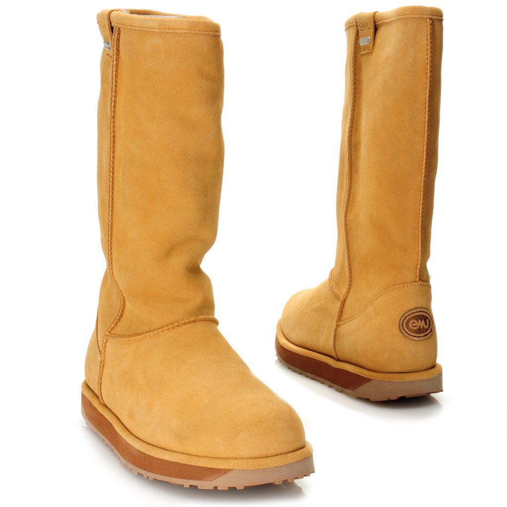 715-480 - EMU® Suede Leather & Sheepskin Waterproof Tall Boots