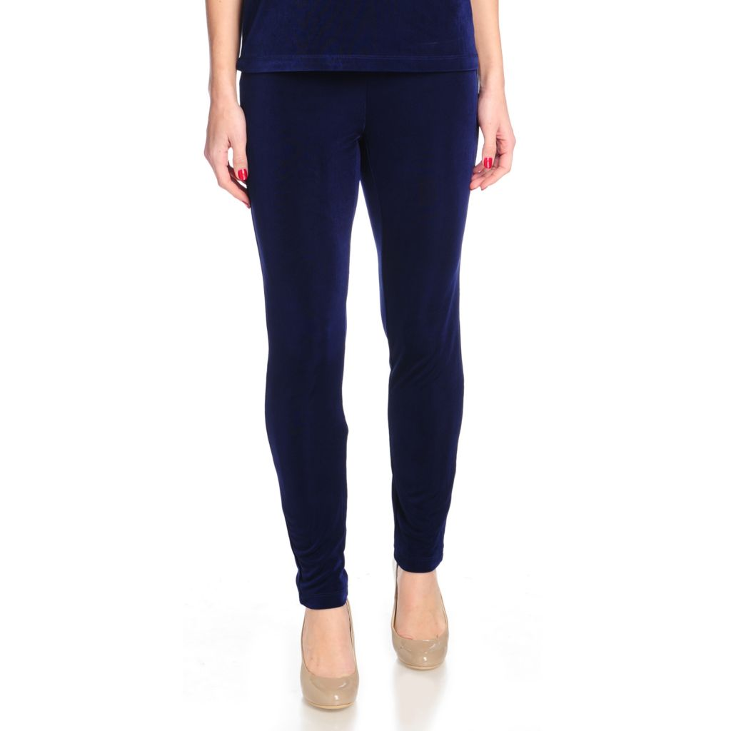 715-581 - Affinity for Knits™ Elastic Waist Full Length Leggings