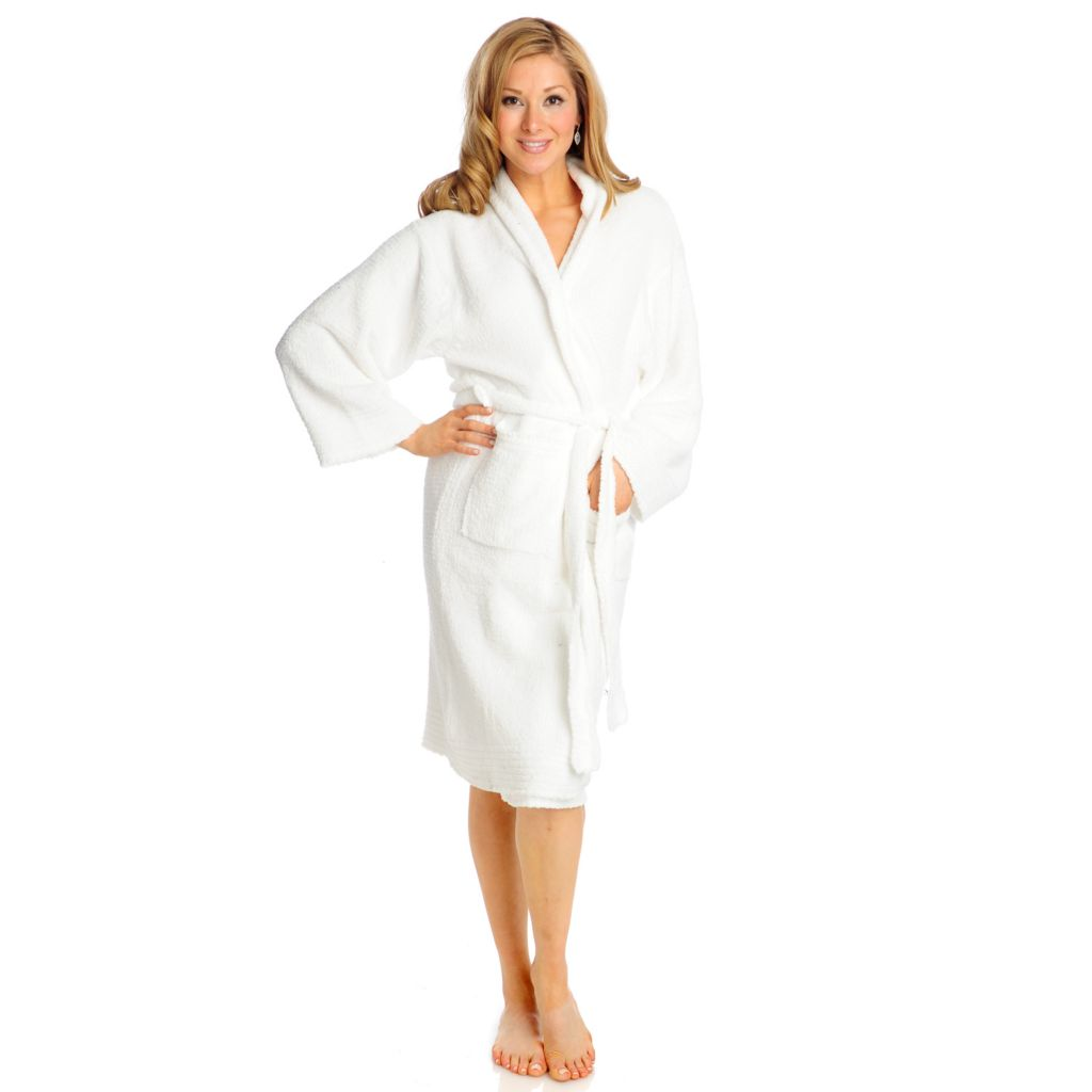 715-589 - Colorado Clothing Comfort Series Soft Chenille Two-Pocket Robe