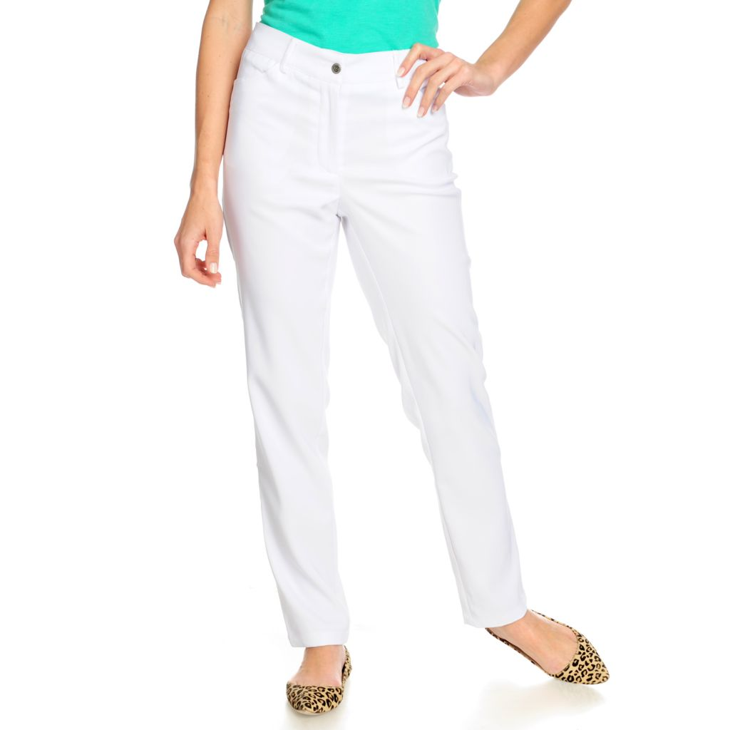 715-674 - OSO Casuals Stretch Twill Four-Pocket Full Length Straight Leg Pants