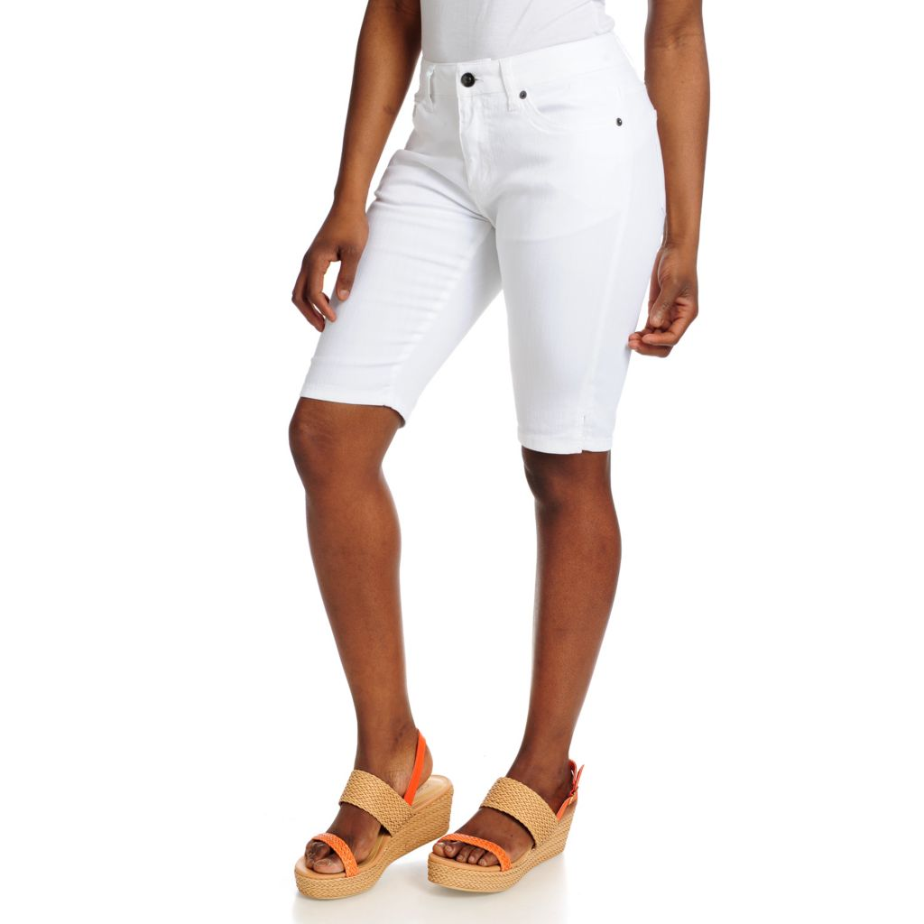 715-687 - OSO Casuals Stretch Twill Side Slit Bermuda Shorts