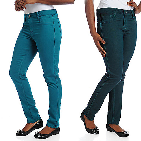 715-688 - OSO Casuals™ Stretch Denim Reversible Slim Leg Jeans