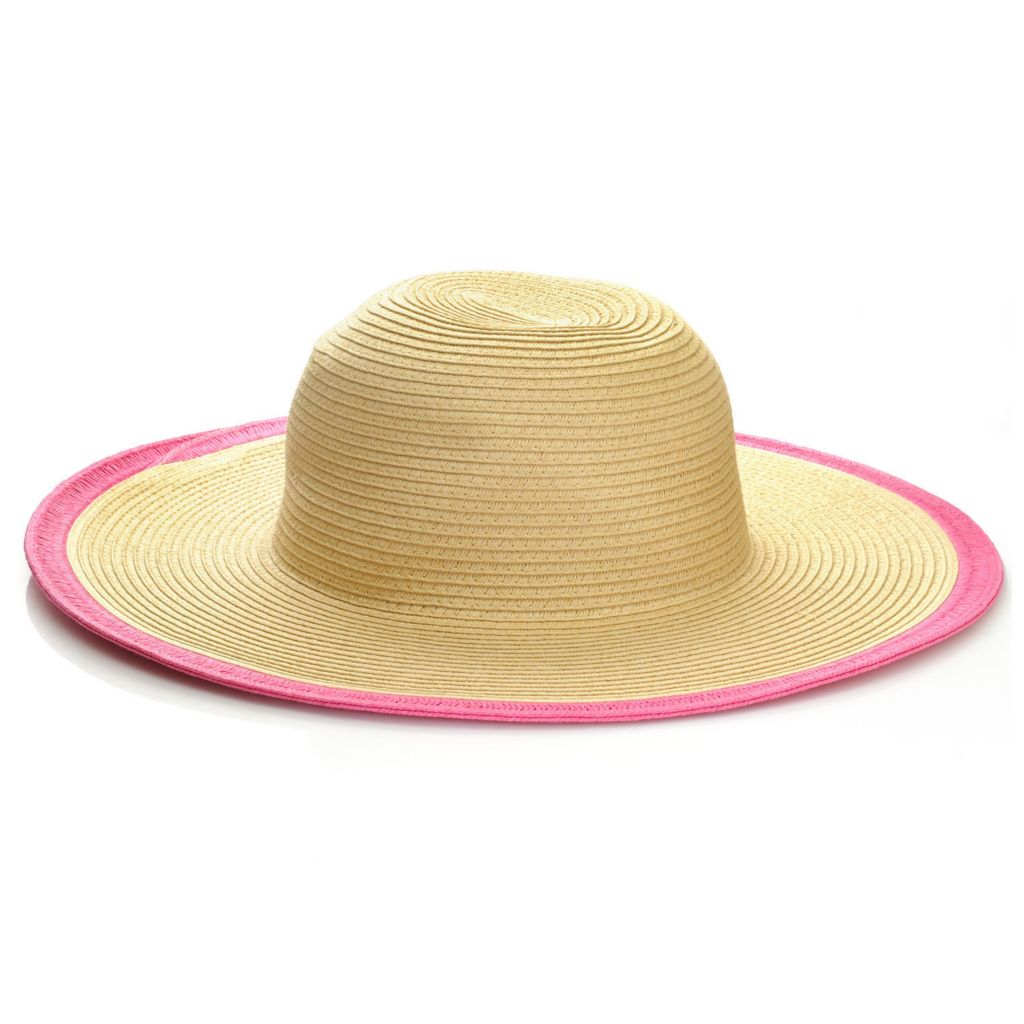 715-803 - Collection XIIX Contrast Edge Floppy Hat