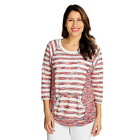 715-924 - One World French Terry Raglan Sleeved Pullover Sweatshirt