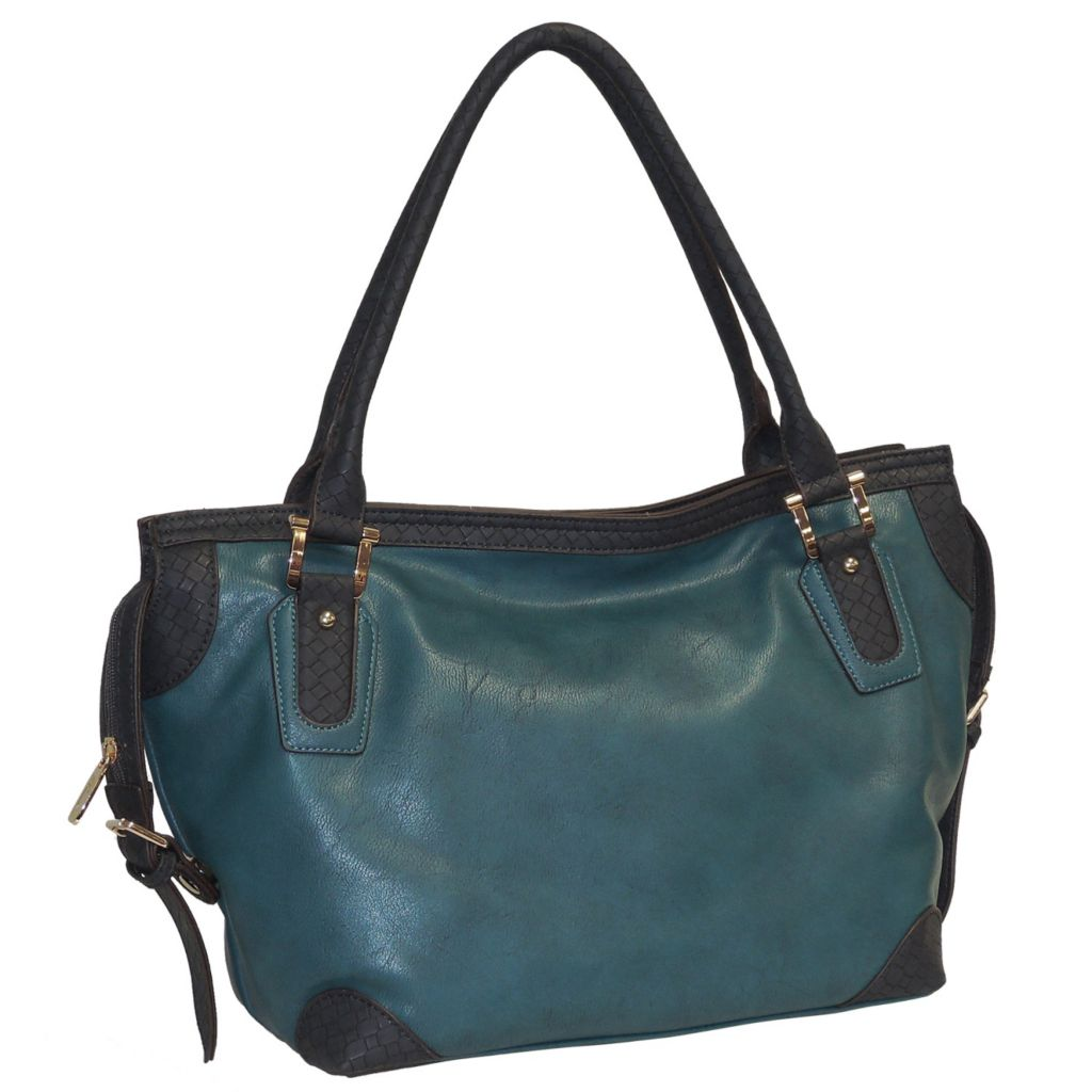 716-007 - Buxton® Double Shoulder Handbag
