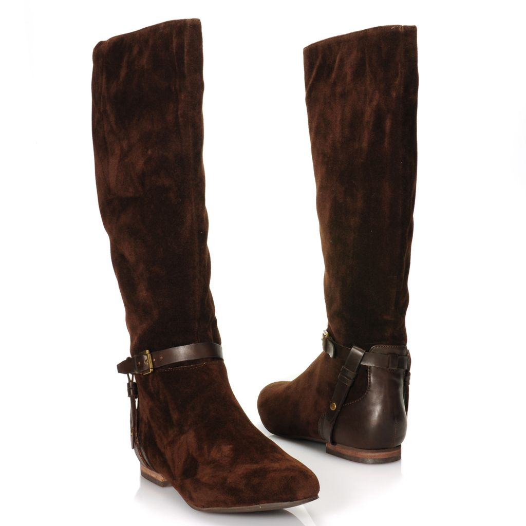 716-012 - Matisse® Belt & Buckle Detailed Half Zip Tall Boots