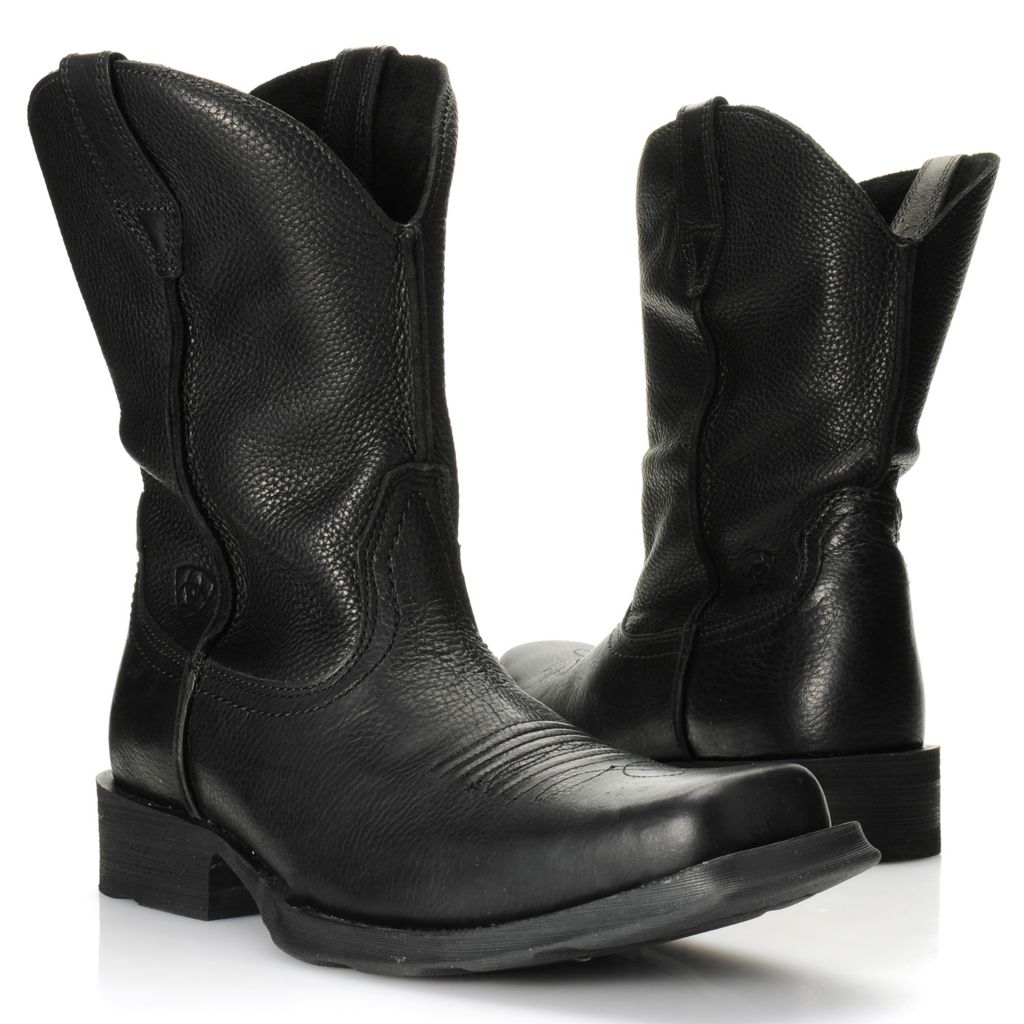 716-102 - Ariat® Men's Leather Pull-on Western-Inspired Boots