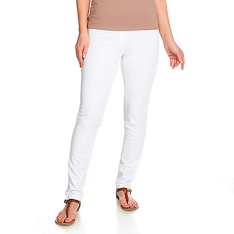 716-127 - Kate & Mallory Ponte Knit Straight Leg Pants