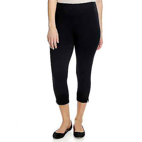 716-343 - Slimming Options™ for Kate & Mallory Choice of Length Shape Control Knit Leggings