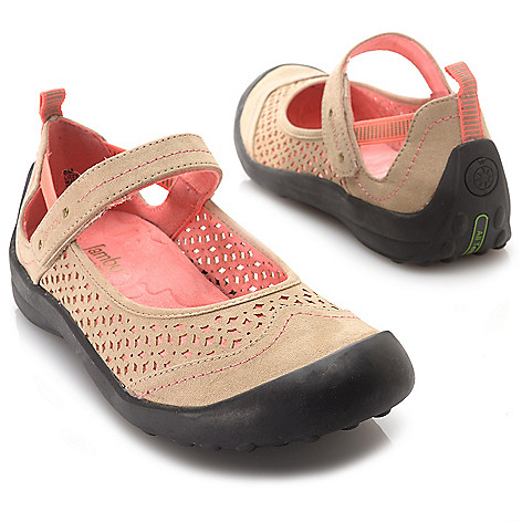 716-373 - Jambu ''Lizzy'' Laser Cut Design Flat Comfort Shoes