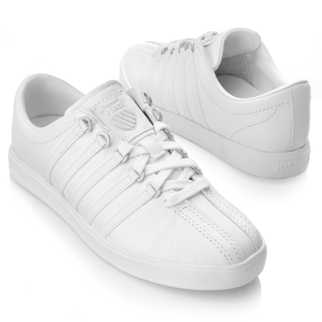 716-473 - K-Swiss® Women's Leather Classic Lite™ Lace-up Sneakers
