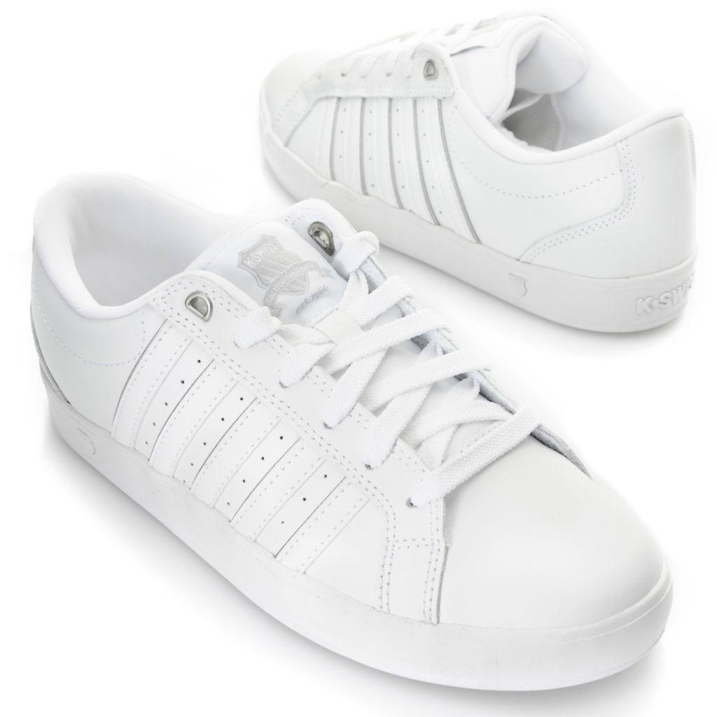 716-477 - K-Swiss® Women's Leather Gallen III™ Lace-up Sneakers