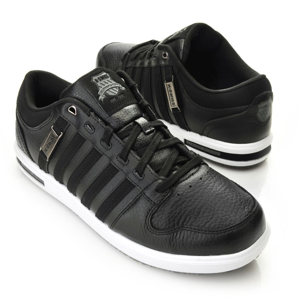 716-479 - K-Swiss® Men's Leather Palisades II™ Lace-up Sneakers